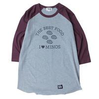 I LOVE MINOS 3/4 BB TEE