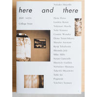 here and there vol.14 Collage Issue