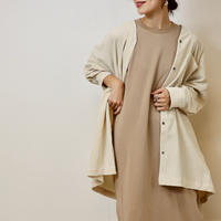 Abientot select!|コーデュロイノーカラーオーバーシャツ|J1015