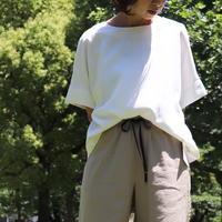 【 malla | マーラ 】 バックフレアカットソー |  92FB582