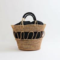 Fair Trade|インナーバッグ付きバスケットバッグ|5IP-BAG-201019|B2009