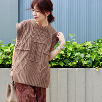 TODAYFUL|Cable Knit Vest|11920506|T1052