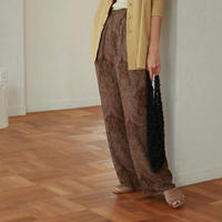 【   TODAYFUL | トゥデイフル 】 Paisley Rough Pants | 11910710