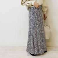 Abientot select.|小花柄マキシスカート |S2003