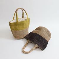 Fair Trade|バイカラーカゴバッグ|5IP-BAG-201004|B2006