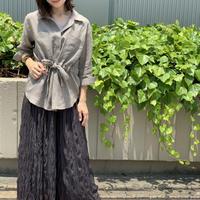 【 ENBLANC | エンブラン  】 オリジナルサファリシャツジャケット |  T1098 | Abientot別注