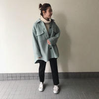 Abientot original item!|オーバーシャツ風コート|J1001