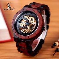 BOBO BIRD メンズ 腕時計 木製 レロジオ Masculino カジュアル ビジネス ルミナスハンズ(kk04537)