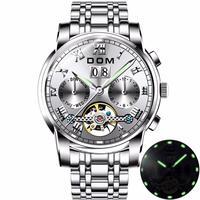 DOM メンズ 腕時計 ウォッチ 機械式時計 QUARTZ クオーツ スポーツ 防水 レロジオ Masculino 男性用 ファッション カジュアル ビジネス(kk04440)