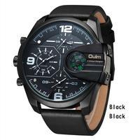 Oulm メンズ 腕時計 クォーツ スポーツ ミリタリー ビックサイズ 通学 通勤 カジュアル(kk04594)