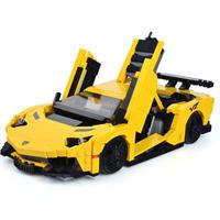 LEGO互換 レゴ互換 ブロック おもちゃ スーパースポーツカー ビルディングブロック テクニック Techniks MOC 車シリーズ XB-03008 スーパーカー 知育玩具 (kk04458)