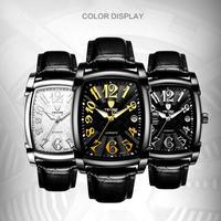 TEVISE メンズ 腕時計 ウォッチ 自動巻き 機械式 レザーベルト 革 防水 カレンダー 男性用 シンプル カジュアル ビジネス(kk04687)