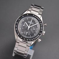CORGEUT メンズ 腕時計 ウォッチ クォーツ式 クロノグラフ 防水 フルステンレス 男性用 スポーツ ビジネス カジュアル ファッション(kk04630)