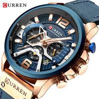 CURREN カレン メンズ 腕時計 ウォッチ クォーツ式 クロノグラフ スポーツウォッチ 防水 男性用 カジュアル ファッション ビジネス(kk04626)