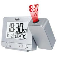FanJu FJ3531プロジェクションアラーム時計 投影目覚まし時計 デジタル日付 スヌーズ機能 バックライトプロジェクター デスクテーブル LED時計時間投影(kk04008)