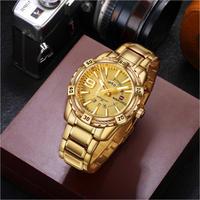 NAVIFORCE メンズ 腕時計 日付 曜日 クォーツ ビジネス 防水 カジュアル ウォッチ(kk04531)
