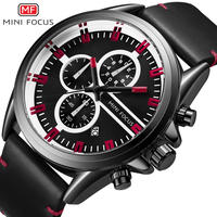 MINIFOCUS メンズ 腕時計 クォーツ ミリタリーテイスト カジュアルユース 通勤 通学(kk04590)
