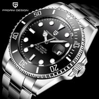 ロレックス サブマリーナ― オマージュウォッチ 自動巻 PAGANI DESIGN製 メンズ腕時計 ビジネス腕時計