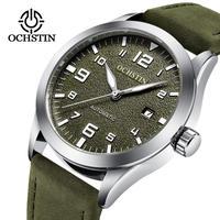 OCHSTIN メンズ 腕時計 ウォッチ 自動巻き 機械式 スケルトン スポーツ ミリタリー 防水 男性用 カジュアル ファッション ビジネス(kk04667)