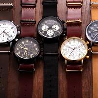 TORBOLLO メンズ 腕時計 クォーツ クロノグラフ クラシカルデザイン 防水 カジュアル ビジネス ウォッチ(kk04558)