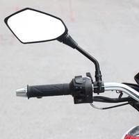 スクーターバイク オートバイバイク リアミラーサイドミラー 2PCS レーサー8mm(mk00457)