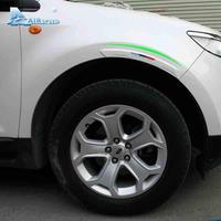 BMW用 シリコーンバンパープロテクター タイヤエッジフェンダー保護 ガードステッカー 40×4cm/WHITE (kk04000WHITE )