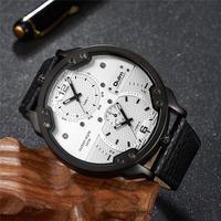 Oulm メンズ 腕時計 ウォッチ ファッション クォーツ腕時計 スポーツ ビックデザイン カジュアル 通学 通勤(kk04585)