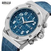 BAOGELA メンズ 腕時計 クォーツ 防水 クロノグ ラフ カジュアル 発光 通勤 通学 ビジネス(kk04650)