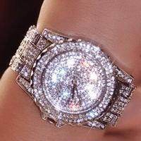 レディース ウォッチ  DIMINI キラキラ 腕時計 クリスタル ラインストーン パヴェ ジュエリー ウォッチ(kk04515)