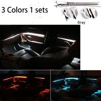 BMW用 LED アンビエントドア ライト 3色 調光 カー アクセサリー インテリア装飾 Bmw 5 シリーズ F10/F11 Gray(kk04169Gray)