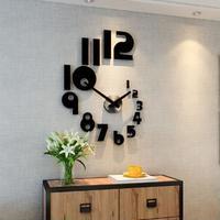 ★★【送料無料】★★【送料無料】アクリル サイレントクォーツ 壁時計 60cm×82cm
