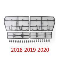 トヨタ TOYOTA ランドクルーザープラド 150 ランクル フロントグリル メッシュ 昆虫スクリーニング 防虫ネット 2018-2020 (kk04656)