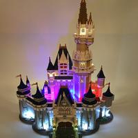 LEGO(レゴ) 互換 71040 シンデレラ城 ディズニー ブロック おもちゃ LEDライト