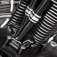 ハーレー用 オートバイプッシュロッドリフターブロックカバー ツーリング ロードキング ストリートグライド エレクトラグライド 1999-2015ツインカム(kk03999)