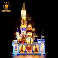 プリンセス城 シンデレラ おもちゃ ブロック LEDライト 光る 71040相当 LIGHTAILING 送料無料(mk00048)