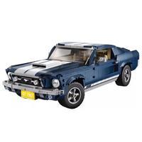 LEGO互換 レゴ互換 ブロック おもちゃ フォードマスタング 1967 GT500  テクニック 10265 ビルディングブロック 1648個 知育玩具 送料無料 (kk04459)