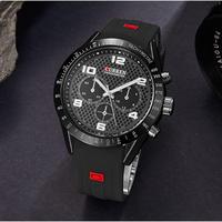CURREN メンズ 腕時計 ミリタリー 防水 アナログ クォーツ式 ウォッチ カジュアル 通勤 通学 ファッション(kk04601)