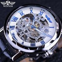 T-WINNER メンズ 腕時計 ウォッチ 手巻き 機械式時計 スケルトン ファッション カジュアル デザイナー時計 レザーバンド ユニセックス レディース(kk04599)