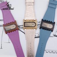 BOBO BIRD レディース 腕時計 天然木時計 本革ストラップ 通勤 通学 普段使い カジュアル ウォッチ(kk04573)