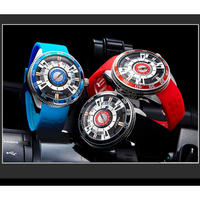 SINOBI メンズ 腕時計 ウォッチ クォーツ スポーツウォッチ シリコーンバンド 男性用 防水 カレンダー ファッション カジュアル ビジネス(kk04568)