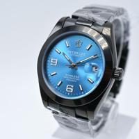 PETER LEE メンズ 腕時計 自動巻き ミルガウスタイプ 三針シンプル クール 通勤 通学 ウォッチ(kk04622)