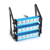 ホンダ用 90W オートバイ LED 8000K ヘッドライト防水 フロントフォークライトランプ Grom 125 MSX125 MSX125SF / Blue-Black(mk00379)