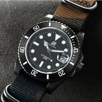 ロレックス サブマリーナ― オマージュウォッチ 自動巻 SAN MARTIN製 メンズ腕時計 ビジネス腕時計