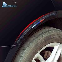 BMW用 シリコーンバンパープロテクター タイヤエッジフェンダー保護 ガードステッカー 40×4cm/BLACK (kk04000BLACK )