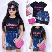 T-shirt+Skirt+Bag 3点SET