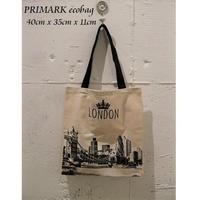 日本未入荷 【PRIMARK プライマーク】エコバッグ LONDON