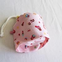 コップ袋女の子用・マトリョーシカ・ピンク