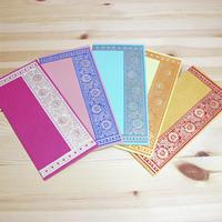 インド封筒・ご祝儀袋(5枚セット)-SONERI
