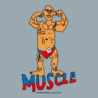 MUSCLE     KID's T-shirts