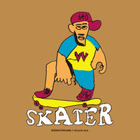 SKATER   T-shirts